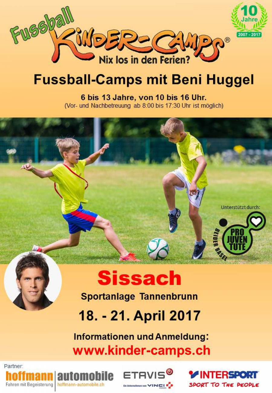 Fussball-Camp mit Beni Huggel
